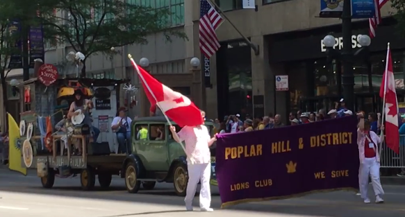 Poplar Hill & District Lions Club at Chicago